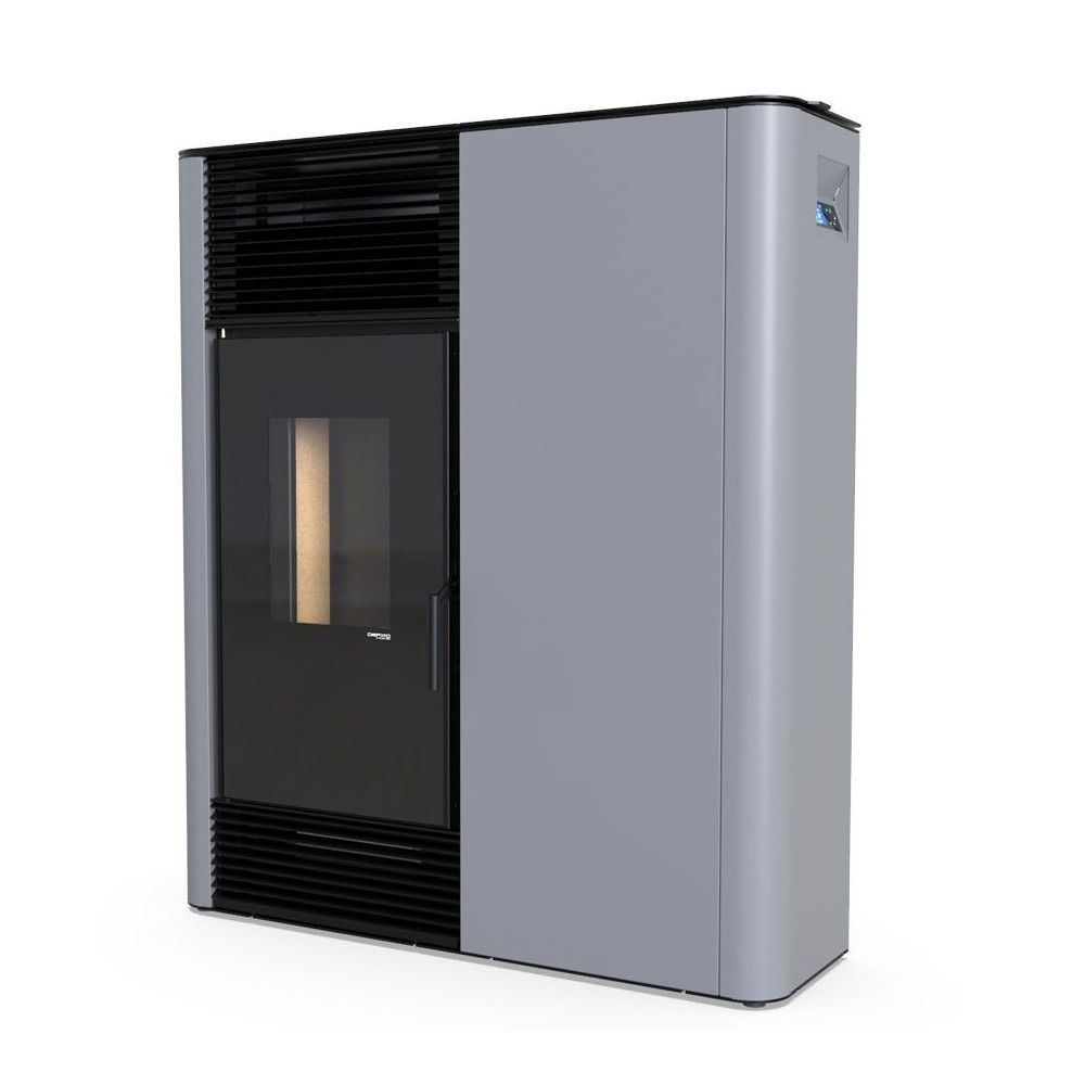 Piec na pellet  - DEFRO Home SlimPell 9 kW - czarny - 5