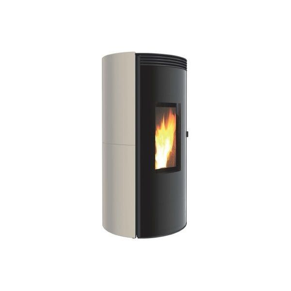 Ultra cichy piecyk na pellet ETHICA LS 6kW Caminetti Montegrappa