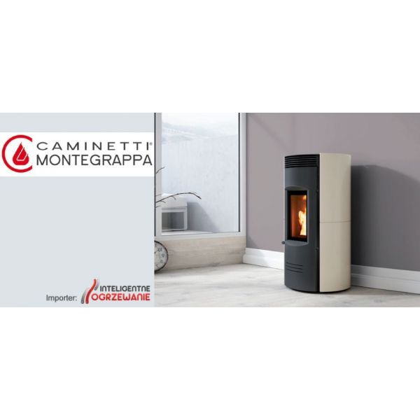 Ultra cichy piecyk na pellet EXPO LS 6kW Caminetti Montegrappa - 5