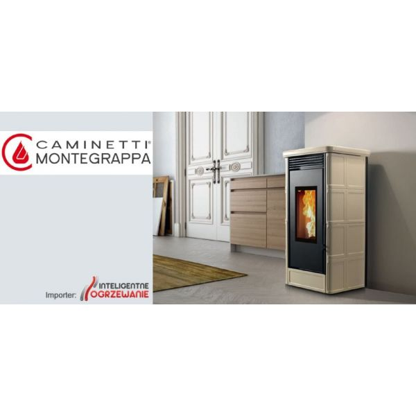 Piecyk na pellet COUNTRY NP 9kW Caminetti Montegrappa
