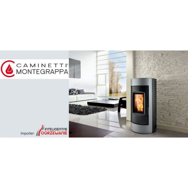 Piecyk na pellet RING NP 6kW Caminetti Montegrappa