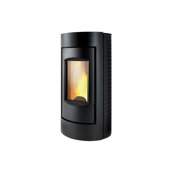 Ultra cichy piecyk na pellet RING LS 6kW Caminetti Montegrappa