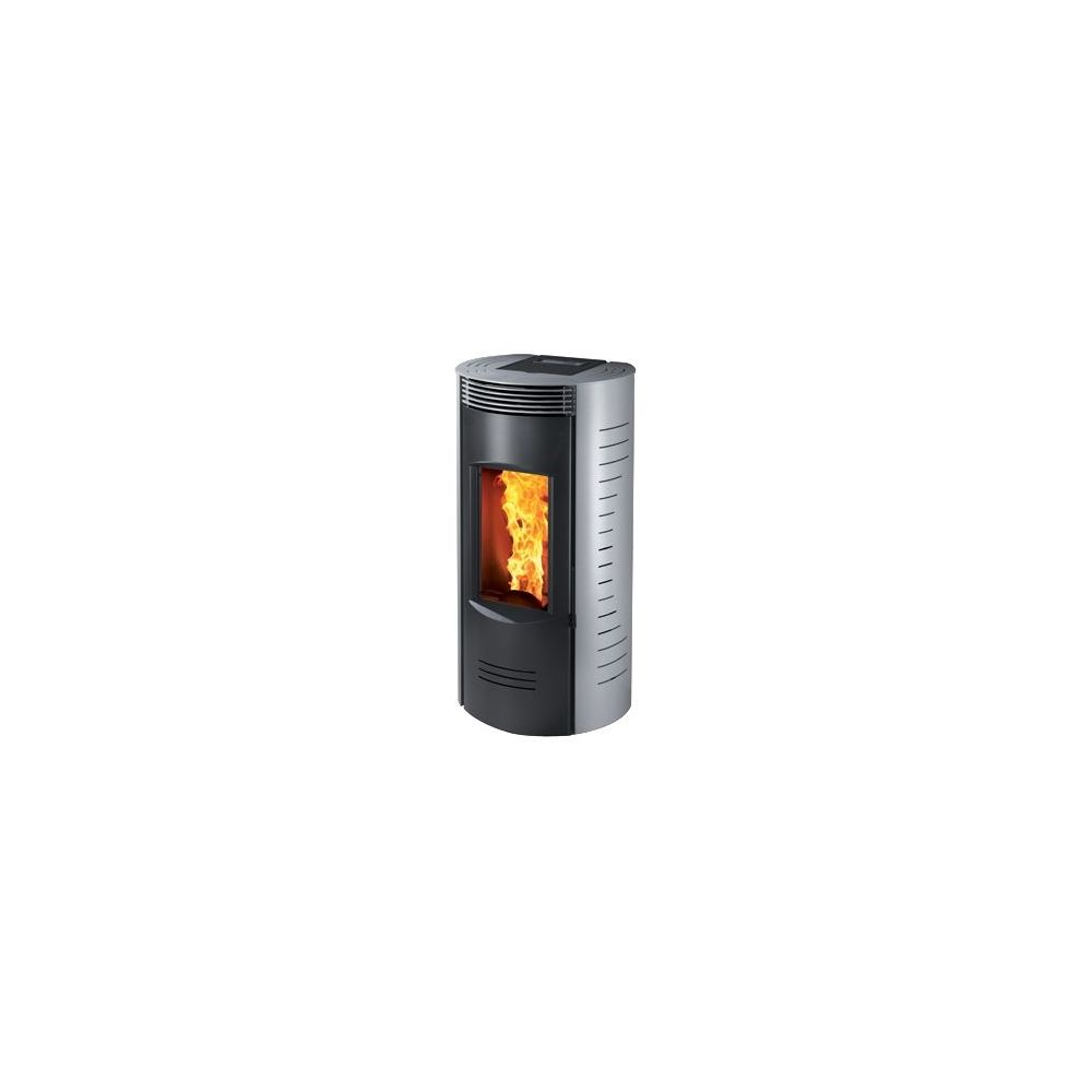 Ultra cichy piecyk na pellet RONDE LS 9kW Caminetti Montegrappa - 1